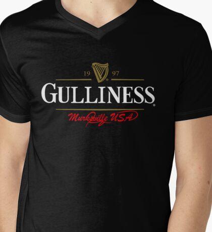 Gulliness  Mens V-Neck T-Shirt