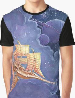 spaceship 2 Graphic T-Shirt