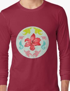 Lilienmeer – Flourishing lilies Long Sleeve T-Shirt
