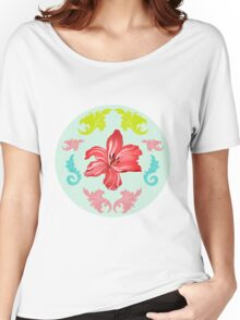 Lilienmeer – Flourishing lilies Women's Relaxed Fit T-Shirt