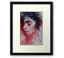 Dripping Blood #1 Framed Print