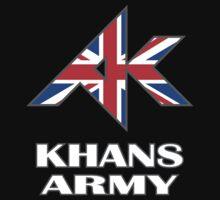 Khans Army Baby Tee
