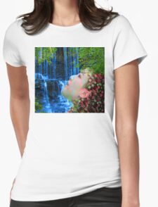 Fountain of Youth  Womens Fitted T-Shirt