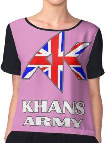 Khans Army Chiffon Top