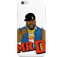 Mr D (murk) iPhone Case/Skin