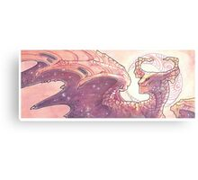 red moon dragon Metal Print