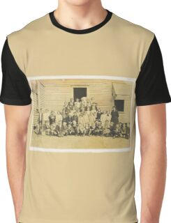 """""""THROWBACK: A 1917 One Room Schoolhouse""""... prints and products Graphic T-Shirt"""