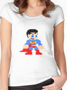 Super-Retro! Women's Fitted Scoop T-Shirt