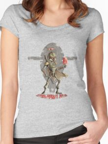 Strawberry Solo Women's Fitted Scoop T-Shirt