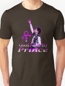 Prince The Man In Purple T-Shirt