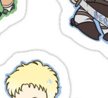 SnK Annie, Bertl, Reiner Sticker