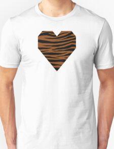 0605 Saddle Brown Tiger Unisex T-Shirt