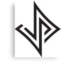 Jabari Parker 12 Unofficial Logo Canvas Print