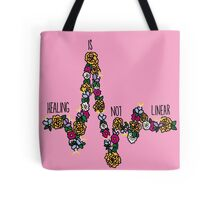 Healing Is Not Linear Tote Bag