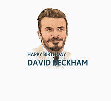 happy birthday david beckham Women's Fitted Scoop T-Shirt