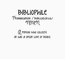 Bibliophile B&W Tank Top