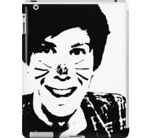 Black and White Phil iPad Case/Skin