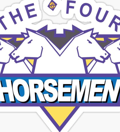 The Four Horsemen Ric Flair 4 Arn Anderson Tully Blanchard Ole Anderson Sticker