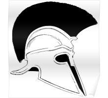 Greek helmet Poster