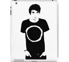 Black and White Dan iPad Case/Skin