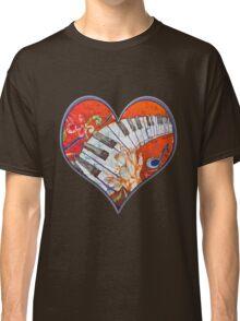 Crazy Fingers Piano Batik by Sue Duda Classic T-Shirt