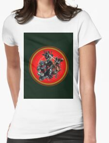 collection enemy Womens Fitted T-Shirt