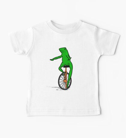Dat Boi Unicycle Frog T-Shirt Baby Tee
