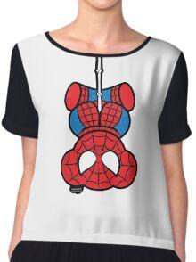 Spider-Bear Chiffon Top