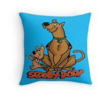scooby doo Throw Pillow