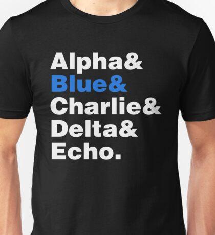 Raptor Squad Helvetica Unisex T-Shirt