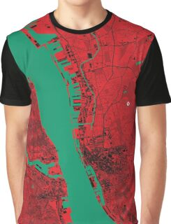 Liverpool Map Graphic T-Shirt