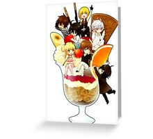 Death Note - Ice Cream Greeting Card
