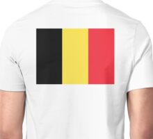 BELGIUM, Flag of Belgium, National flag of Belgium, Belgium Flag, Vlag van België, Brussels, Pure & Simple Unisex T-Shirt