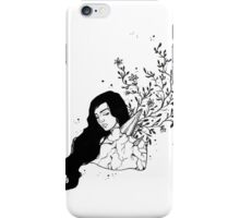 Crystal Growth Ink Drawing iPhone Case/Skin