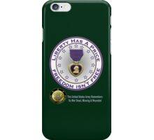 Army Remembers (dark colors) iPhone Case/Skin