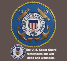 US Coast  Guard Rembers One Piece - Short Sleeve