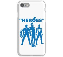 heroes: bowie and his super friends iPhone Case/Skin