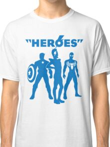 heroes: bowie and his super friends Classic T-Shirt