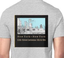 Greenwich Village Roofscape Unisex T-Shirt