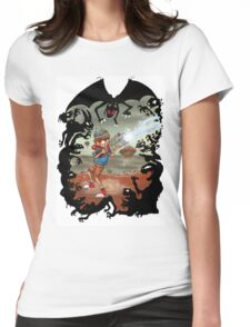 heart of darkness Womens Fitted T-Shirt