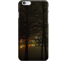 Foggy Night on the Waterfront iPhone Case/Skin