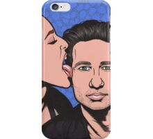 Mulder and Scully X Files iPhone Case/Skin
