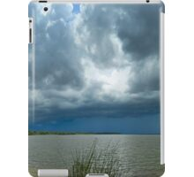 Ominous Clouds Approach iPad Case/Skin