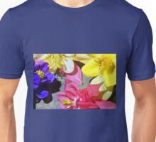 Colorful Columbines Unisex T-Shirt