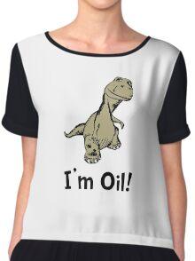 Dino Oil Chiffon Top