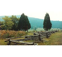 """Alabama Fence line""... prints and products Photographic Print"