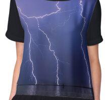 Lightning Wizard Chiffon Top