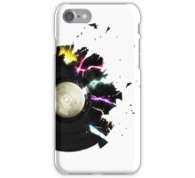 Broken record iPhone Case/Skin