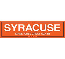 syracuse 1 Photographic Print