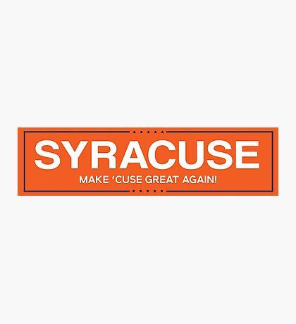 syracuse 1 Photographic Print
